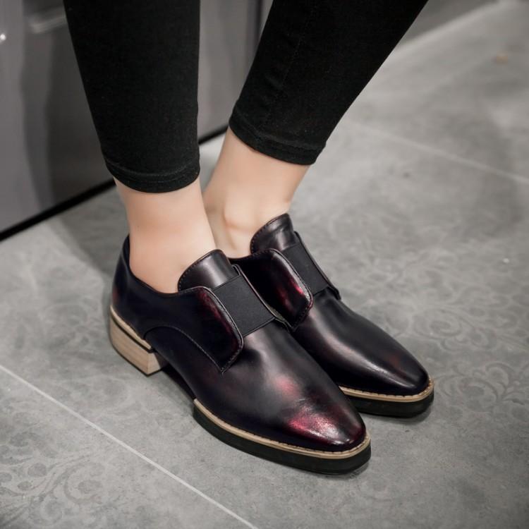 fashion women oxford brown shoes<br><br>Aliexpress