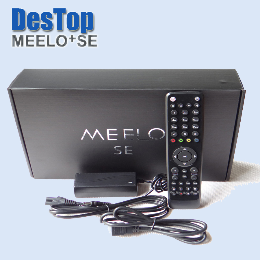 2pcs MEELO SE Linux Operating system same as Solo2 se Twin DVB-S2 Tuners NEW ESATA Satellite TV Receiver(China (Mainland))