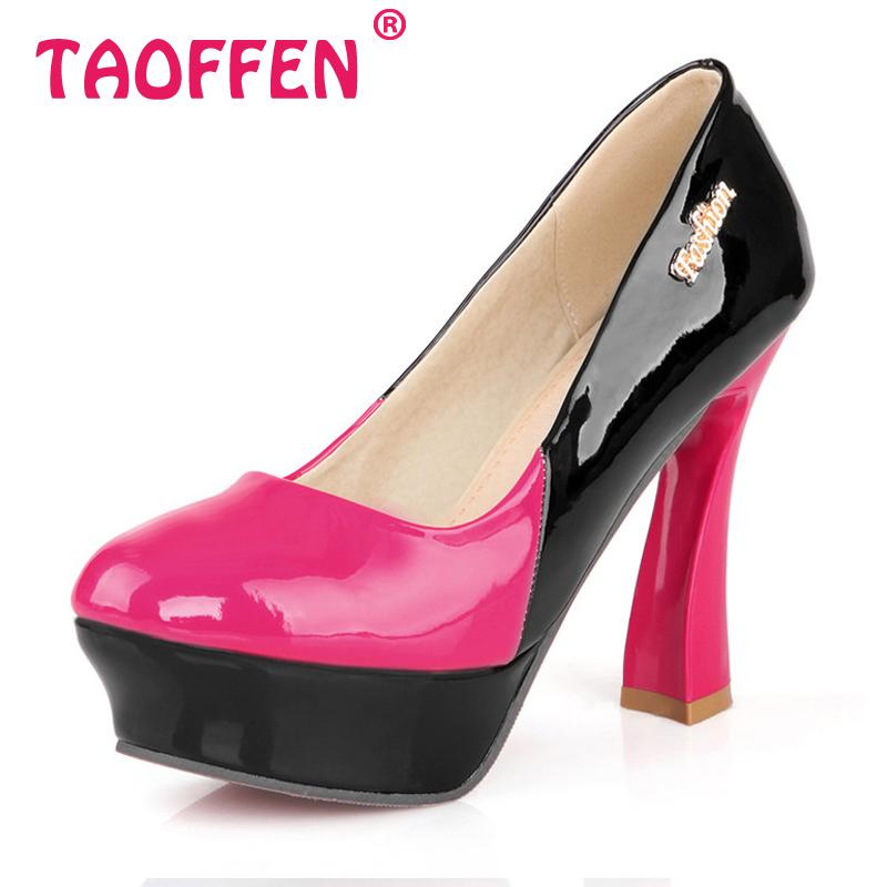 Здесь можно купить  women square high heel shoes round toe brand platform quality female fashion heeled sexy pumps heels shoes size 32-42 P16597 women square high heel shoes round toe brand platform quality female fashion heeled sexy pumps heels shoes size 32-42 P16597 Обувь