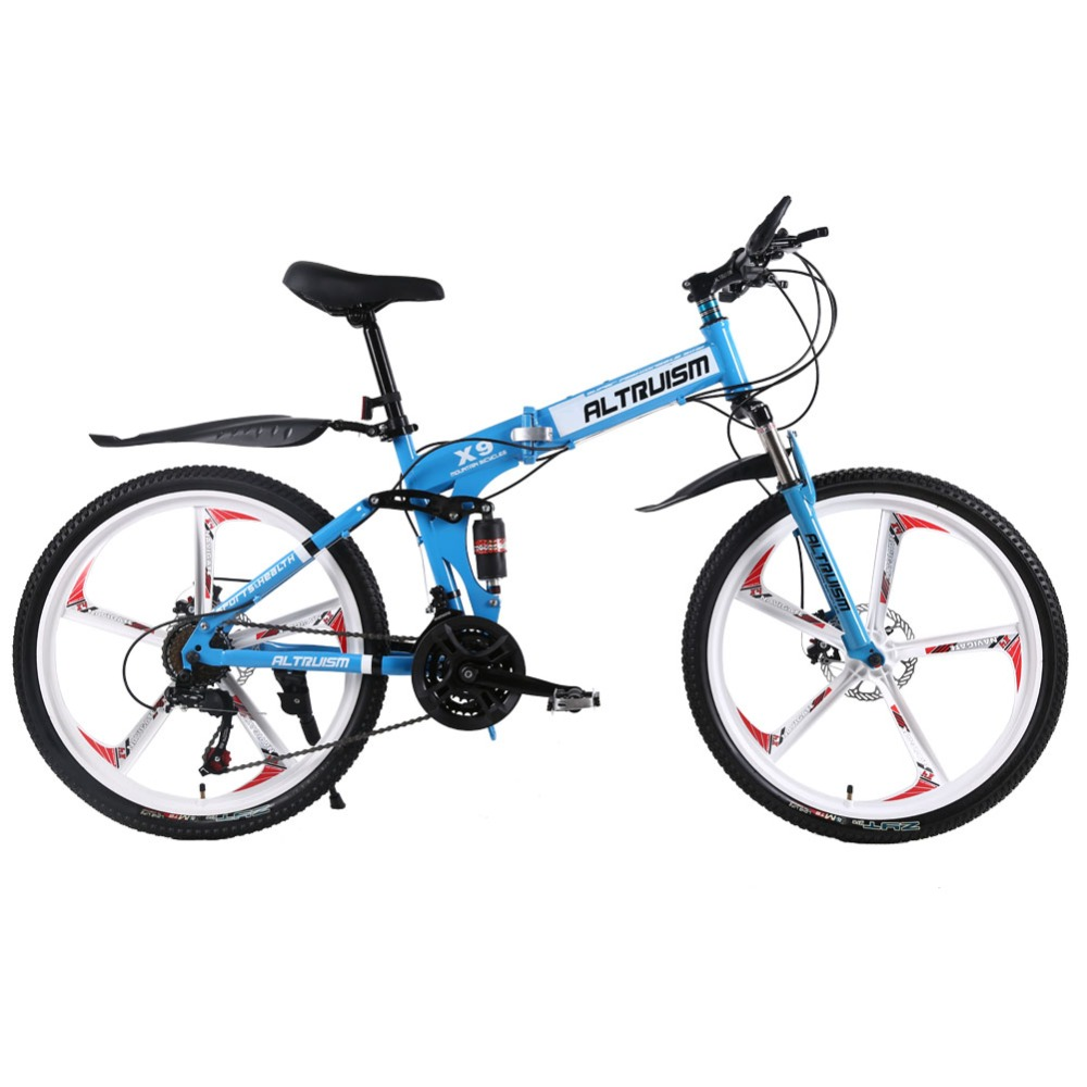 Altruism X9 24 speed Aluminum mountain bike for Folding bicycles unisex children 24 inch mountain bikes bicycle(China (Mainland))