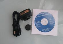Envío gratis, CE iso, 10 M USB2.0 microscopio ojo digital / USB Live Video de la cámara del microscopio, utilizado para todos los tipos de microscopios
