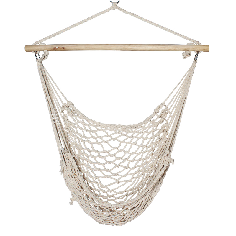 Outdoor hanging chair hammock indoor hanging chair hammock overstretches cotton net()