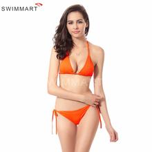 Mainland Multicolor Sexy Halter Women Bikinis Swimwear Bikini Set Ladies Triangular Bottom + top Swimsuit Bikini Plus size(China (Mainland))