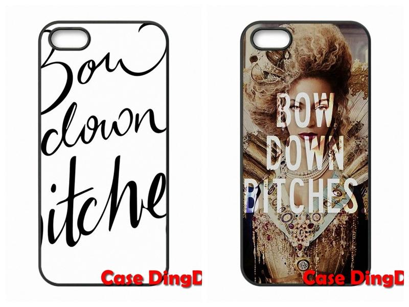 case Accessories BOW Down Bitches For iPhone 4 4S 5 5C SE 6 6S Plus Apple iPod Touch 4 5 6 Moto X1 X2 G1 E1 Razr D1 Razr D3(China (Mainland))