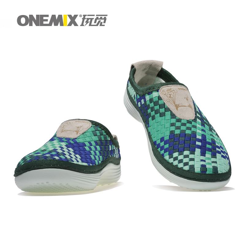Man Running Shoes for men weaving Run Athletic Trainers Breathable Blue Zapatillas Sports Shoe Light Loafers Walking Sneakers