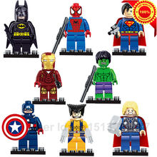 Avengers Marvel DC Super Hero star wars minifigures Building Blocks bricks kids Toys Superman Batman spiderman lego compatible(China (Mainland))