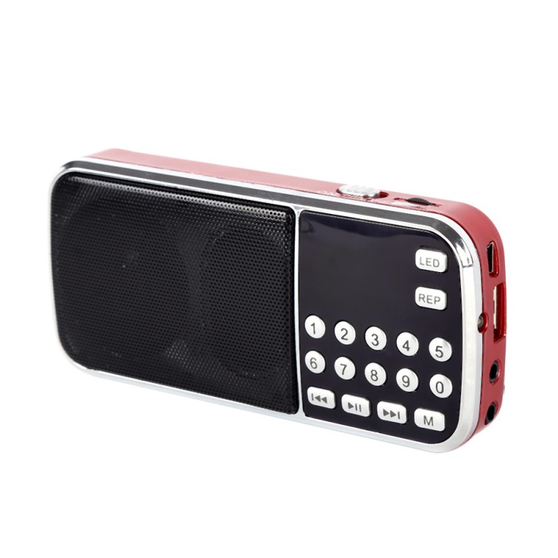 2016 Dual band rechargeable portable mini pocket digital FM radio with USB port TF micro SD card slot(China (Mainland))