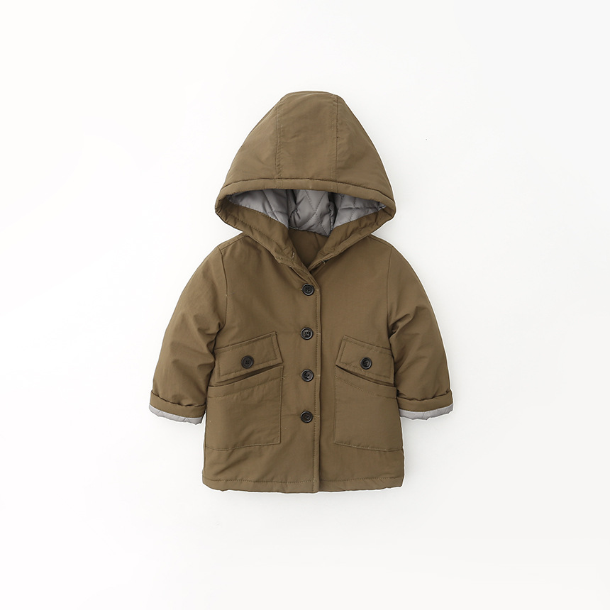 2015 Baby Boys Winter Autumn Jacket Coat Thick Warm Cashmere Kids Hooded Outerwear Boy Parka Children Clothing - Ellen's Castle store