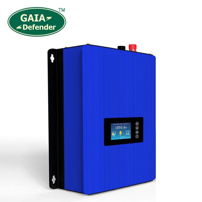 NEW 1000W Solar Power Grid Tie Inverter DC 22V-60V or 45V-90V AC 100V 110V 220V 230V 230V LCD display second generation(China (Mainland))