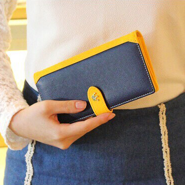 New Fashion Candy Color Women Wallet Long Design Panelled Multifunctional Lady Purse High Quality PU Leather Girl Change Bags<br><br>Aliexpress