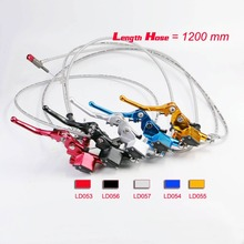 Brand New Multi-colored Motorcycle Hydraulic Clutch Master Cylinder Rod Fit ATV Motocross Pit Bike Spare Parts Of 1200 mm 900 mm(China (Mainland))