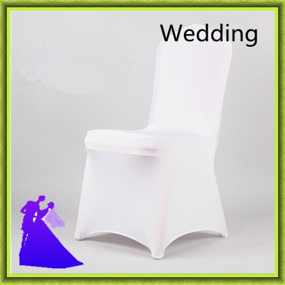 100pcs white wedding spandex chair covers from china free shipping(China (Mainland))