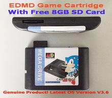 SEGA GENESIS MegaDrive(MD) EDMD Game Cartridge, USA, Japanese and European game card shell