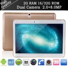 NEW 10.5″ Tablet pc Octa Core mtk6592 andriod 4.4.2 Dual SIM 3G phone call 2G RAM 16G/32G IPS 2560*1600 Bluetooth GPS 2+8MP pad