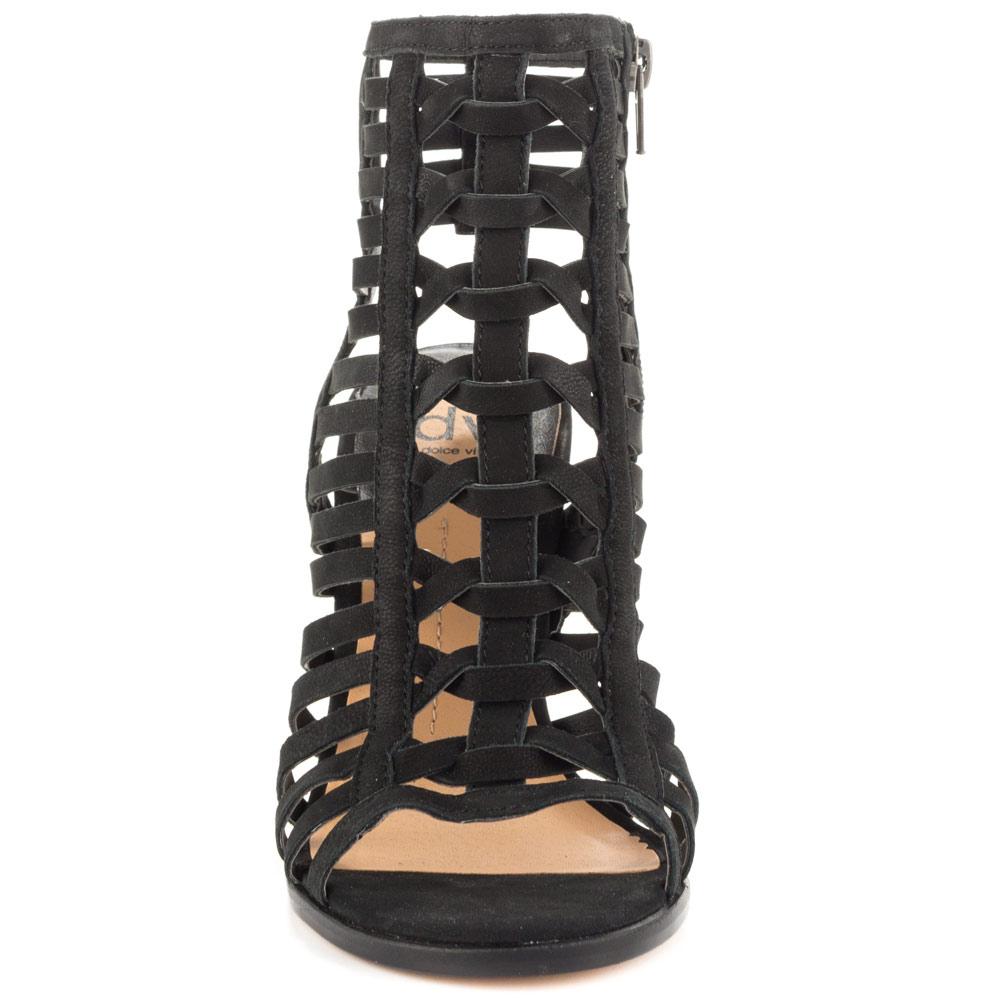 Gladiator Sandals Heels Black