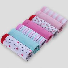 7PCS/lot Plus Size XL XXL Women Girls Boxer Briefs Cotton Panty Lace Panties Underwear Cuecas Ladies Underpants(China (Mainland))
