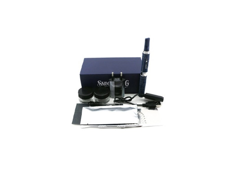 ถูก 5ชิ้น/ล็อตSnoop Doggชุดเลขหมายสมุนไพรvaporizerสีสันขี้ผึ้งสมุนไพรแห้งสีฟ้าไอฉีดน้ำeบุหรี่อิเล็กทรอนิกส์ชุดvape