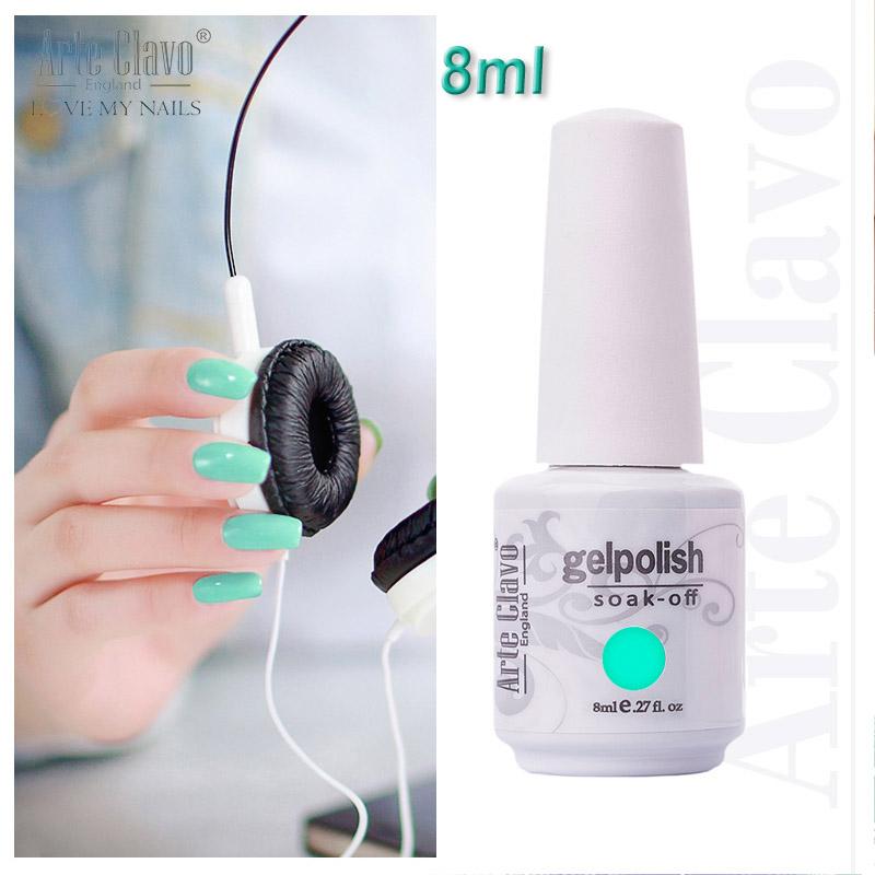 Arte Clavo 8ml Nail Salon Gel UV Led Gel Nail Polish Manufacturers(China (Mainland))