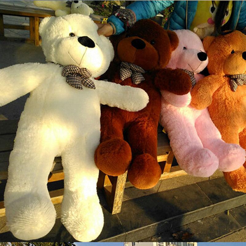 1 piece 0.8m-stuffed Plush toys large size 80cm / teddy bear 80cm/big embrace bear doll /lovers/christmas gifts birthday gift