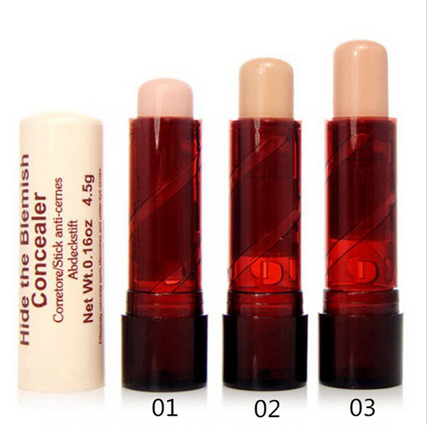 Beauty France Pasha-similar Concealer Makeup Face Eye Lip Concealer Cream Beauty Care The Blemish Creamy Concealer Stick(China (Mainland))