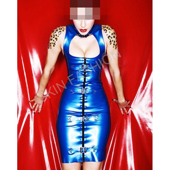 Free shipping !! Sexy new element latex dress(China (Mainland))