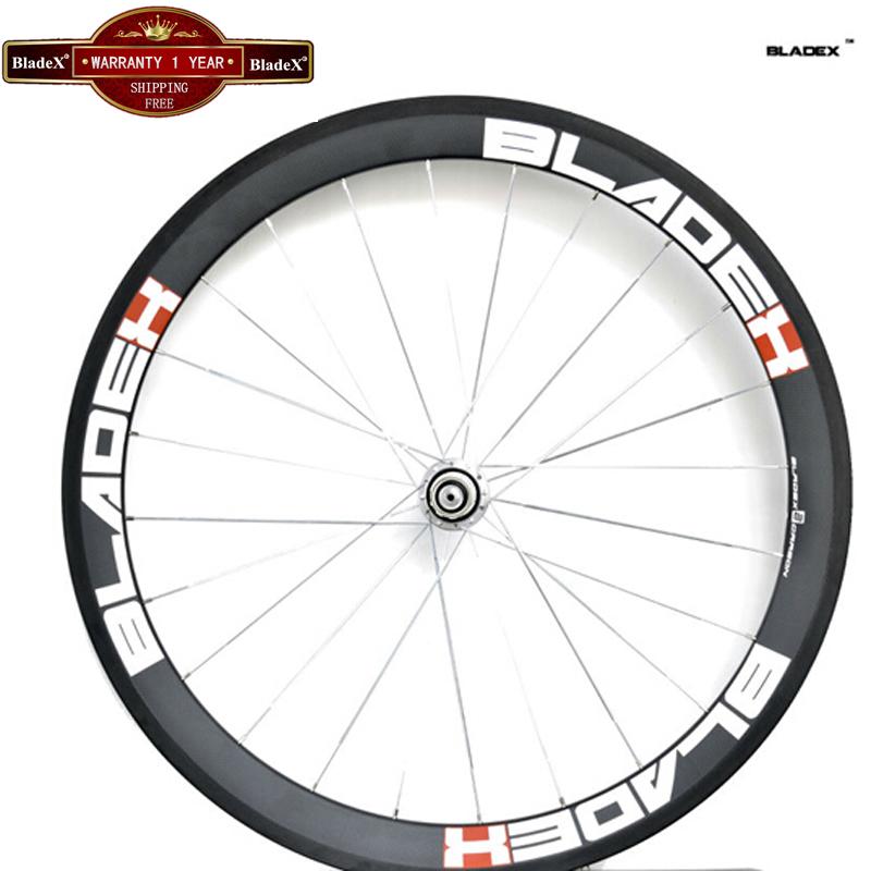 BladeX Carbon Wheels 50mm Clincher Width 23/25mm 700C Road Bike Carbon Wheelset 50mm Carbon Clincher Wheelset Bicycle Wheel<br><br>Aliexpress