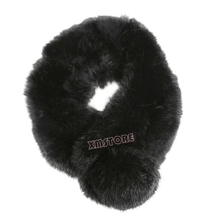 2015 New Fashion Women Ladies Winter Warm Faux Rabbite Fur Scarf Soft Wrap(China (Mainland))