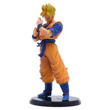 11-23CM Dragon Ball Z Super Goku Son Gohan Broly Vegeta Cell Frieza Buu Broli Trunks Burdock PVC Action Figures Collectible Toys(China)