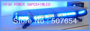 """High quality DC12V/24V,56W 33"""" Led ambulance light bar/led mini light bar/led emergency light,15flash pattern,waterproof IP56"""