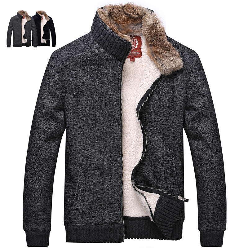 Модные мужские куртки из шерсти