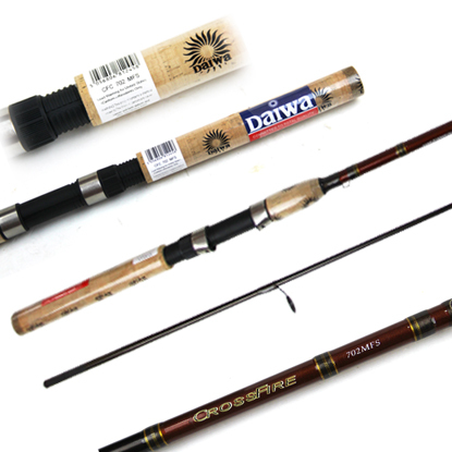 Sales promotion 5pcs 1pcs for free each lot cheap rod for Good cheap fishing rods