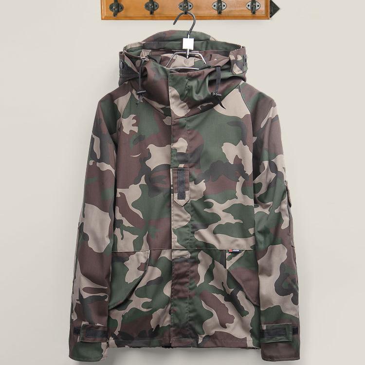 Windbreaker Outdoor Windproof  Harajuku Skateboard Sport Camouflage Jackets for Men/Women Clothes Coats Hombre CD0593