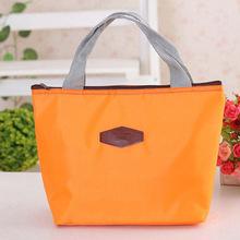 mini bolsa termica cooler bag Tinfoil Aluminum Cooler thermal Handbag Portable picnic lunch bag