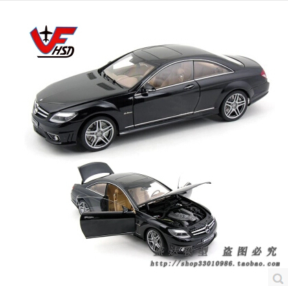 Store opening AutoArt 1:18 Mercedes-Benz CL63 AMG Original alloy car model Fast and Furious Advanced toys Collectibles(China (Mainland))