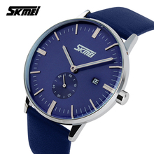 New casual quartz -watch man sports watches men luxury brand military wristwatch leather strap men watch  relogio masculino