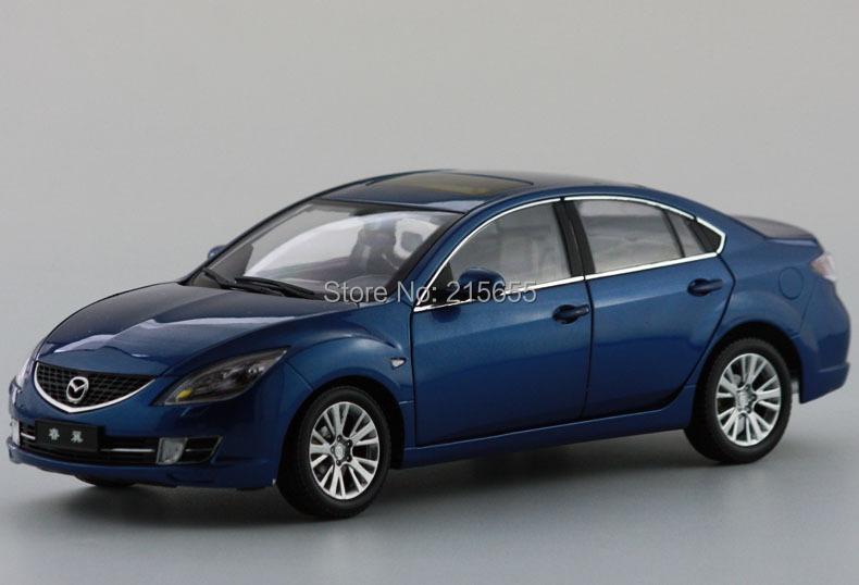 ORIGINAL MODEL 1:18,MAZDA,MAZDA 6 RUIYI 2010,BLUE,SPORTS CAR(China (Mainland))