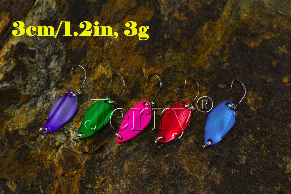 Гаджет  Fishing lure, metal, color spoon, fresh water, wide,3cm/1.2in, 3g, five colors, free shipping None Спорт и развлечения