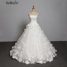 Flower Beaded Vintage Wedding Dress Gowns