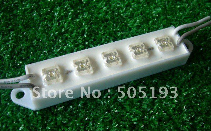 DC12V led module light with 5 Super Flux LED, 100% WaterProof,  100pcs/lot,free shipping<br><br>Aliexpress