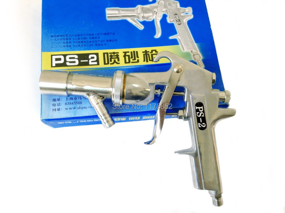High quality spray gun Air Sandblaster spray gun Air Sandblasting Gun Kit ,PS-2 ,3.5mm Air nozzle(China (Mainland))