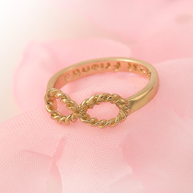 1 pc gold silver vintage infinity rings femme friendship for Best mens jewelry sites