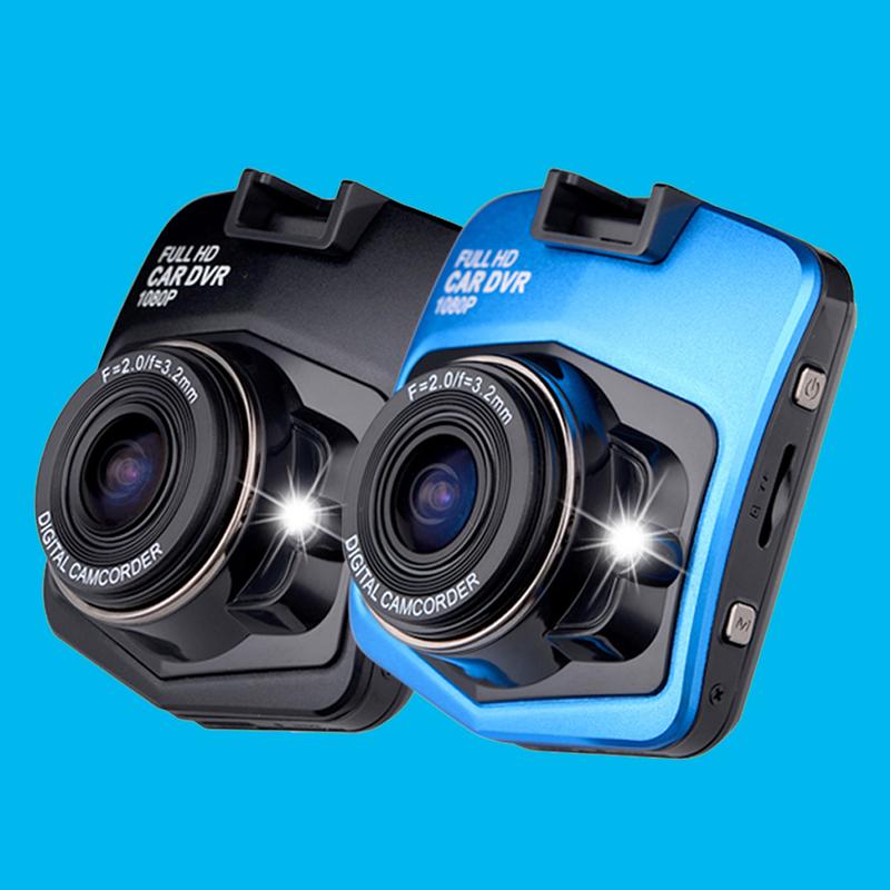 Мини-автомобиля видеорегистратор камеры видеорегистраторы авто автомобили full hd 1080 P парковки жк-рекордер видео регистратор ночного видения черный ящик carcam тире камерой H.264