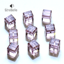 Buy 8MM 100pcs Pure Color Crystal Square Beads Jewelry Making Decorative Glass DIY Beads Material Crystal Cube Beads for $3.94 in AliExpress store