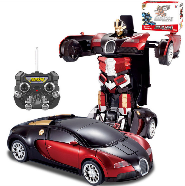 Toy Remote Control Cars For Boys : Rc car black friday transformation robot cars kids boys