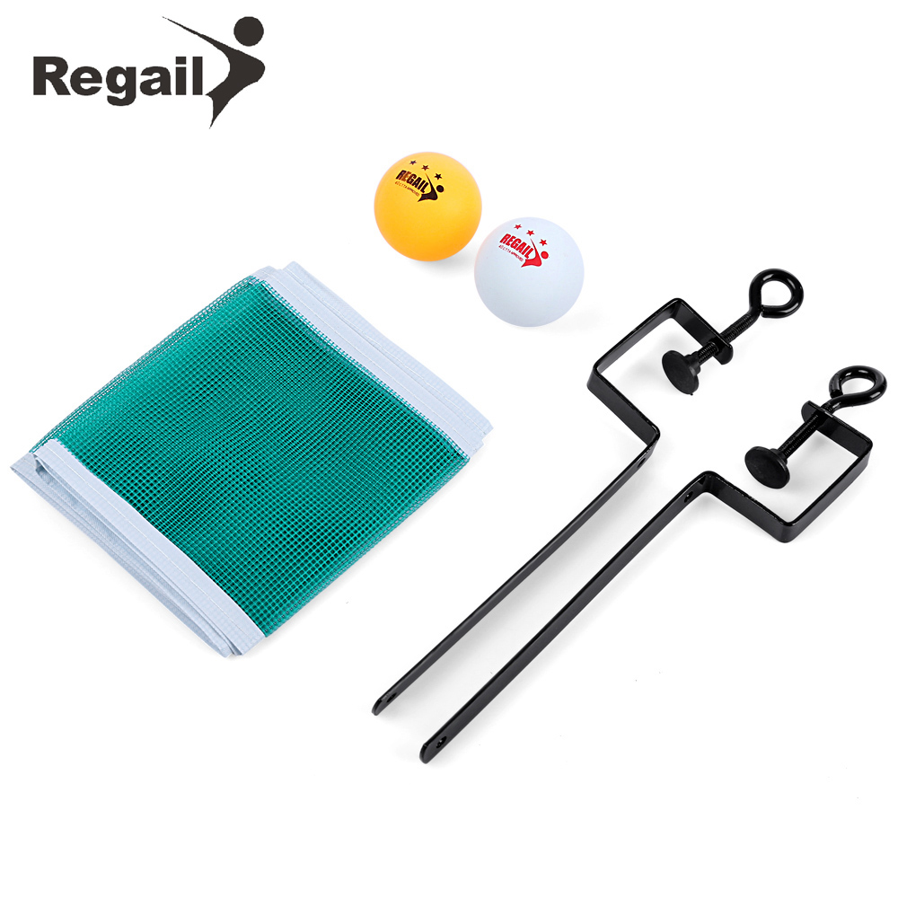 REGAIL Training Competition Ping Pong Ball Net Fix Equipment Practical Table Tennis Set(China (Mainland))