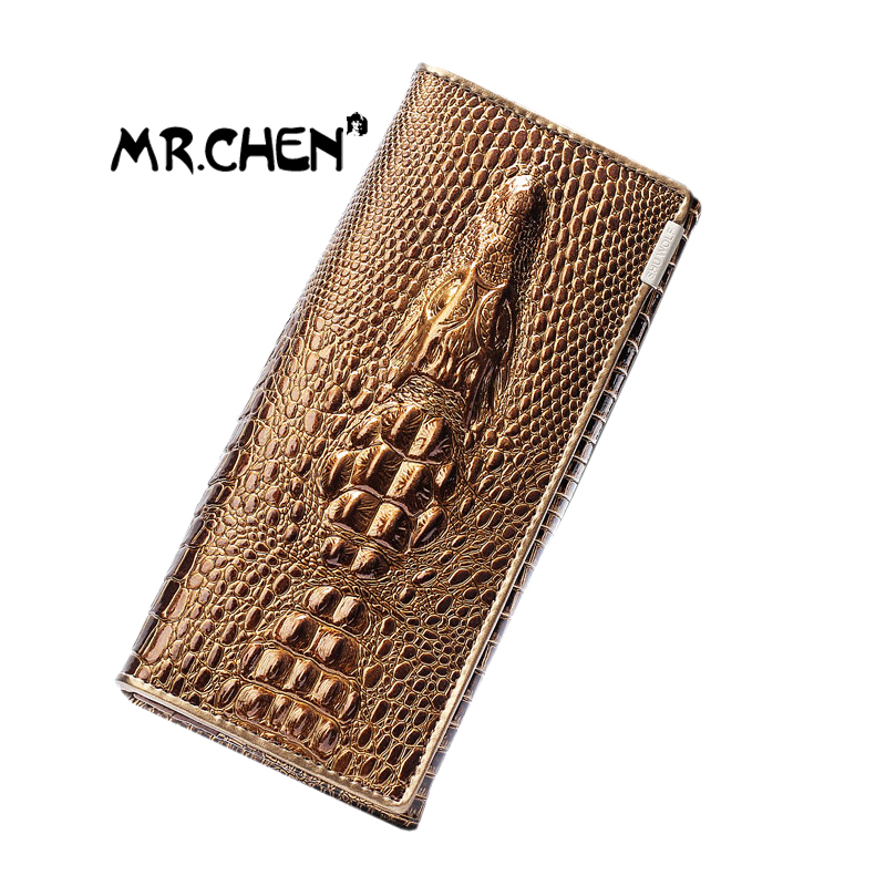 Women Wallets crocodile pattern 3D  genuine leather  European fashion  long wallet brand quality purse Hot sale Free shipping <br><br>Aliexpress