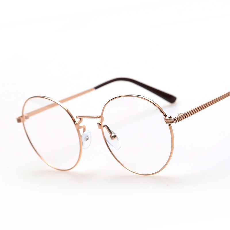 Gold Metal Glasses Frames : Popular Gold Rimmed Eyeglasses-Buy Cheap Gold Rimmed ...