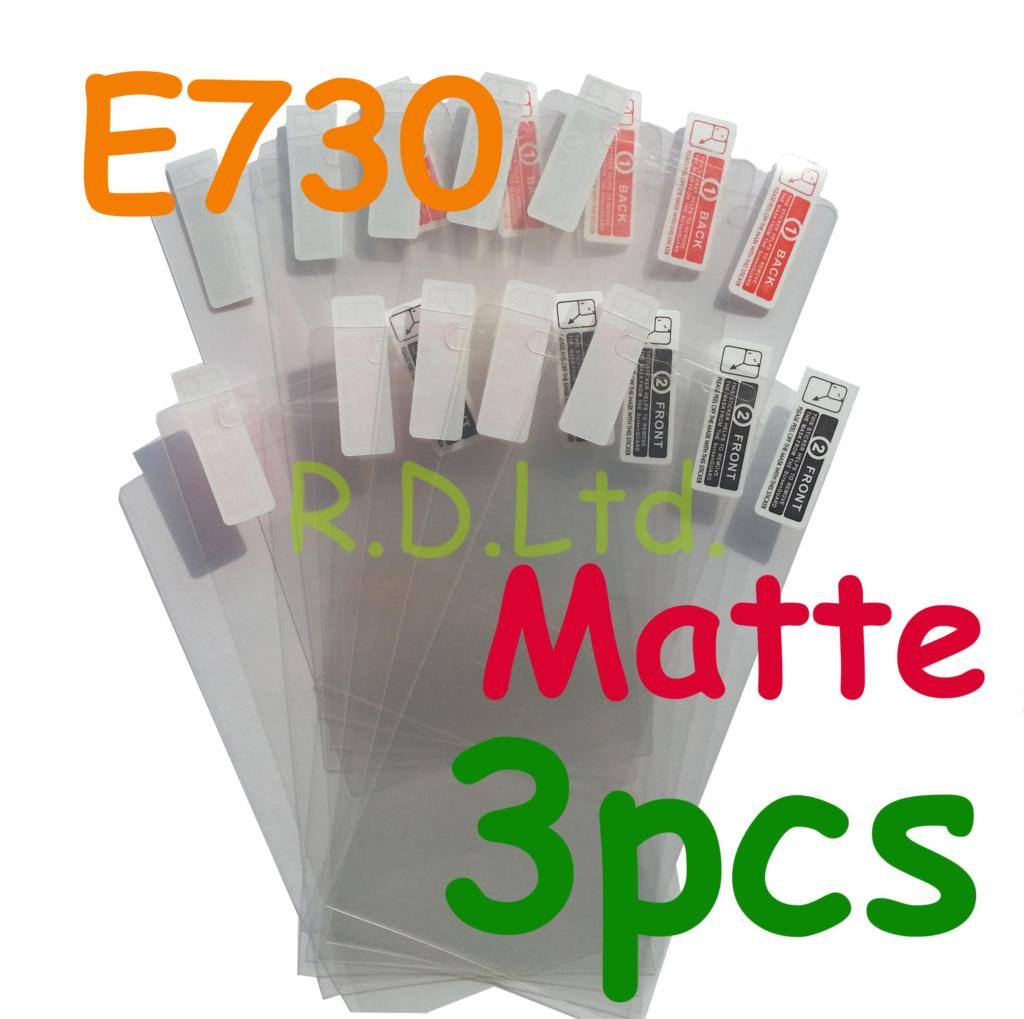 3pcs Matte Screen Protector PET Protection Film Cover protective Guard Fit For LG E730 Optimus Sol(China (Mainland))