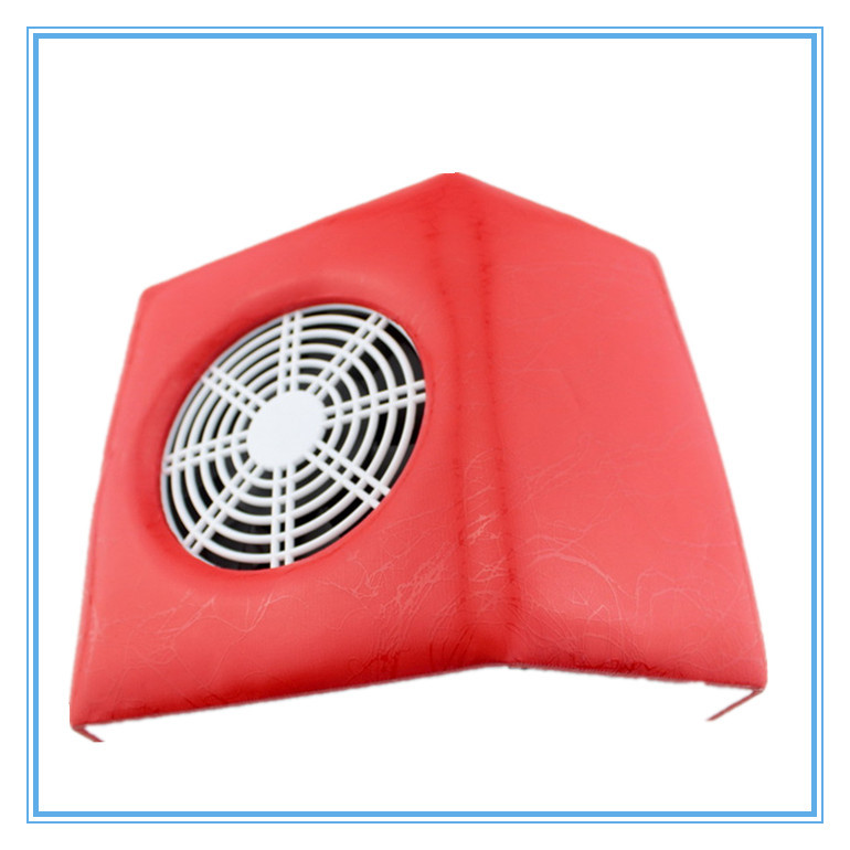 Red Nail Fan Nail Art Dust Suction Collector Manicure UV Gel Machine Nail Deyer(China (Mainland))