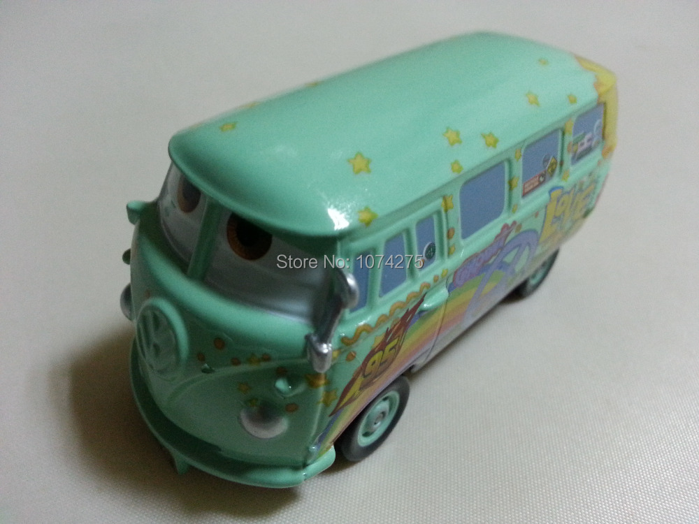 Pixar Cars Fillmore Metal Diecast Toy Car 1:55 Loose Brand New In Stock & Free Shipping(China (Mainland))